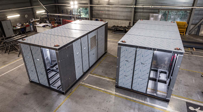 Fabrication en série de stations hydrogène de ravitaillement