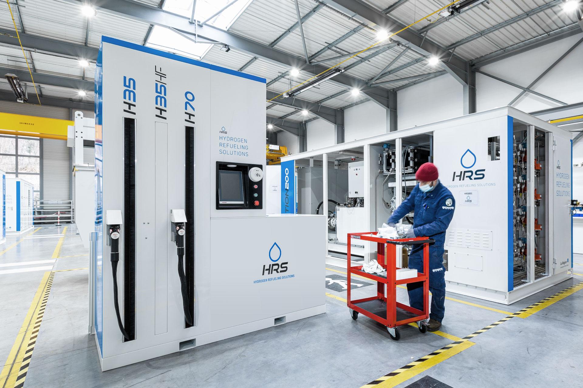 HRS - Conception et fabrication de stations de ravitaillement hydrogène en France