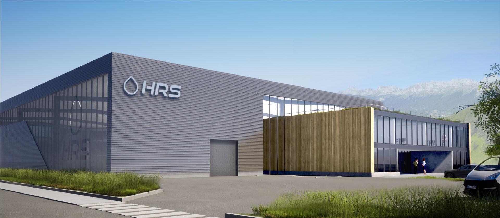 HRS - Usine Hydrogène Refueling Solutions